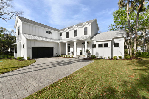 Bayshore model single family architectural design by Group 4 Design, inc.Picture