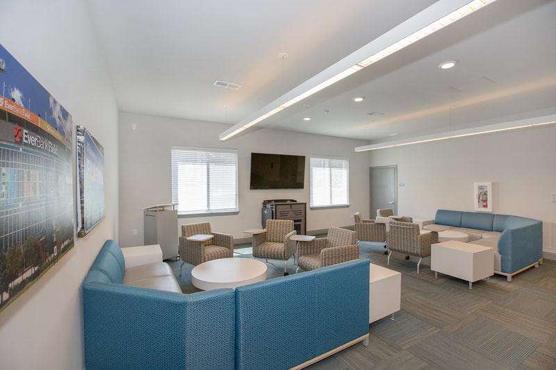 Interior design services at St. Johns Place Residence Hall at Jacksonville Univeristy