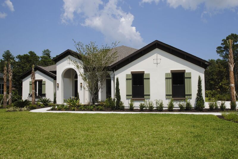 Santa Lucia model Single Family architecture design by Group 4 Design, inc. in St. Augustine, Fla.