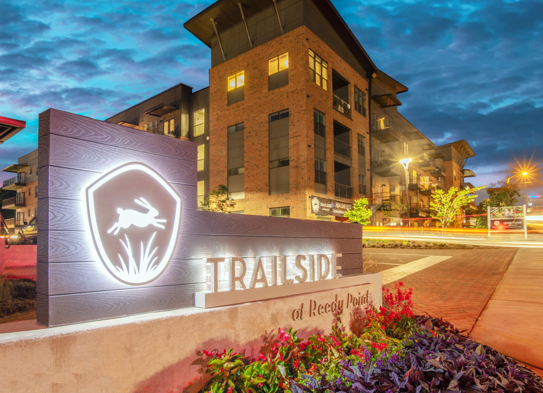 Full service architecture and interior design services at trailside at reedy point in Greenville, South Carolina