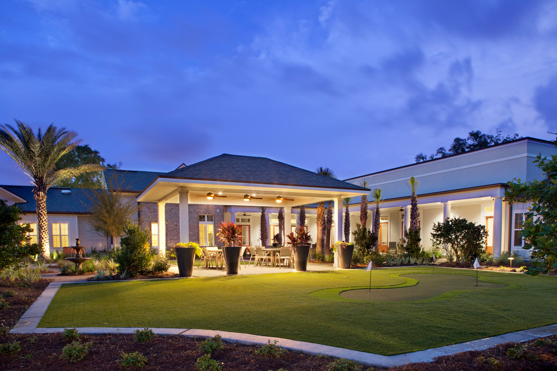 senior living architecture and interior design by group 4 design in jacksonville fla.