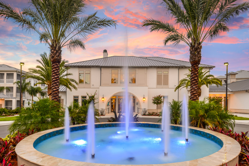 Full service architecture and interior design services at Palm Bay Club in Jacksonville, Fla.